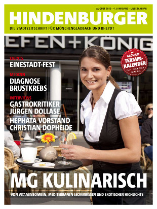 Cover HINDENBURGER August 2010