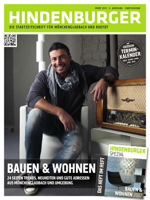 Cover HINDENBURGER März 2012