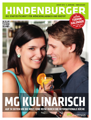 Cover HINDENBURGER August 2012