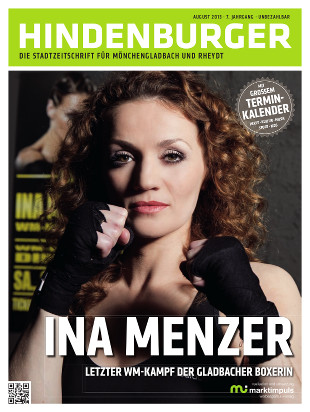 Cover HINDENBURGER August 2013
