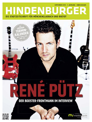 Cover HINDENBURGER September 2013