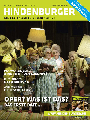 Cover HINDENBURGER Mai 2018
