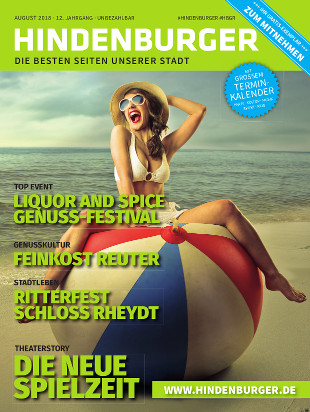 Cover HINDENBURGER August 2018